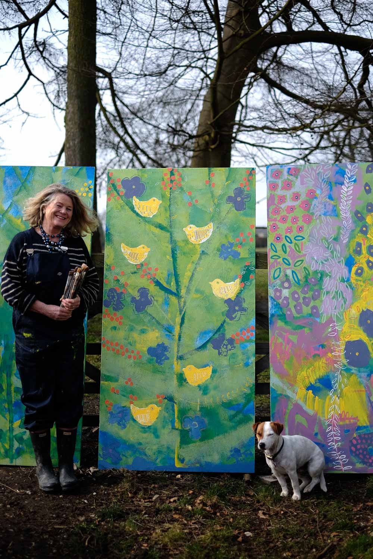 Lesley Seeger - artist and painting workshop teacher