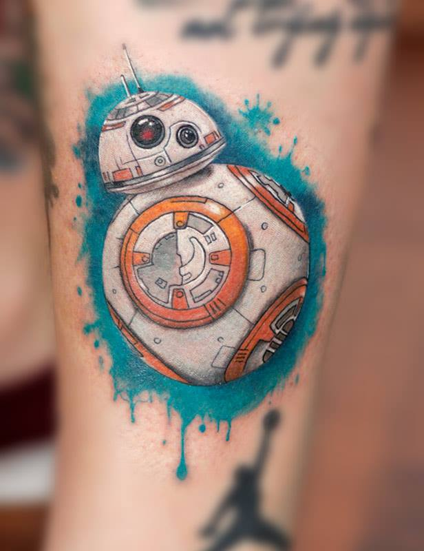 BB8 tattoo.