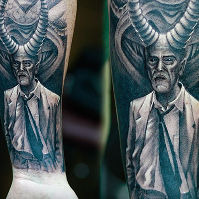 Black and Gray Tattoos -