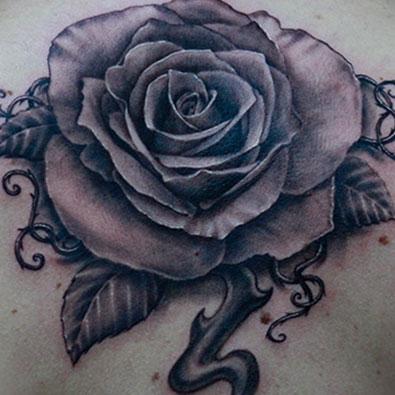 Flower Tattoos -