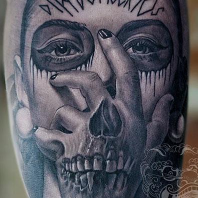 Dia Des Muertos Tattoos -