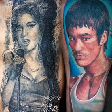 Portrait Tattoos -