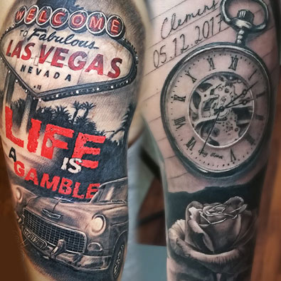 Realism Tattoos -