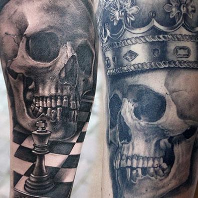 Skulls Tattoos -