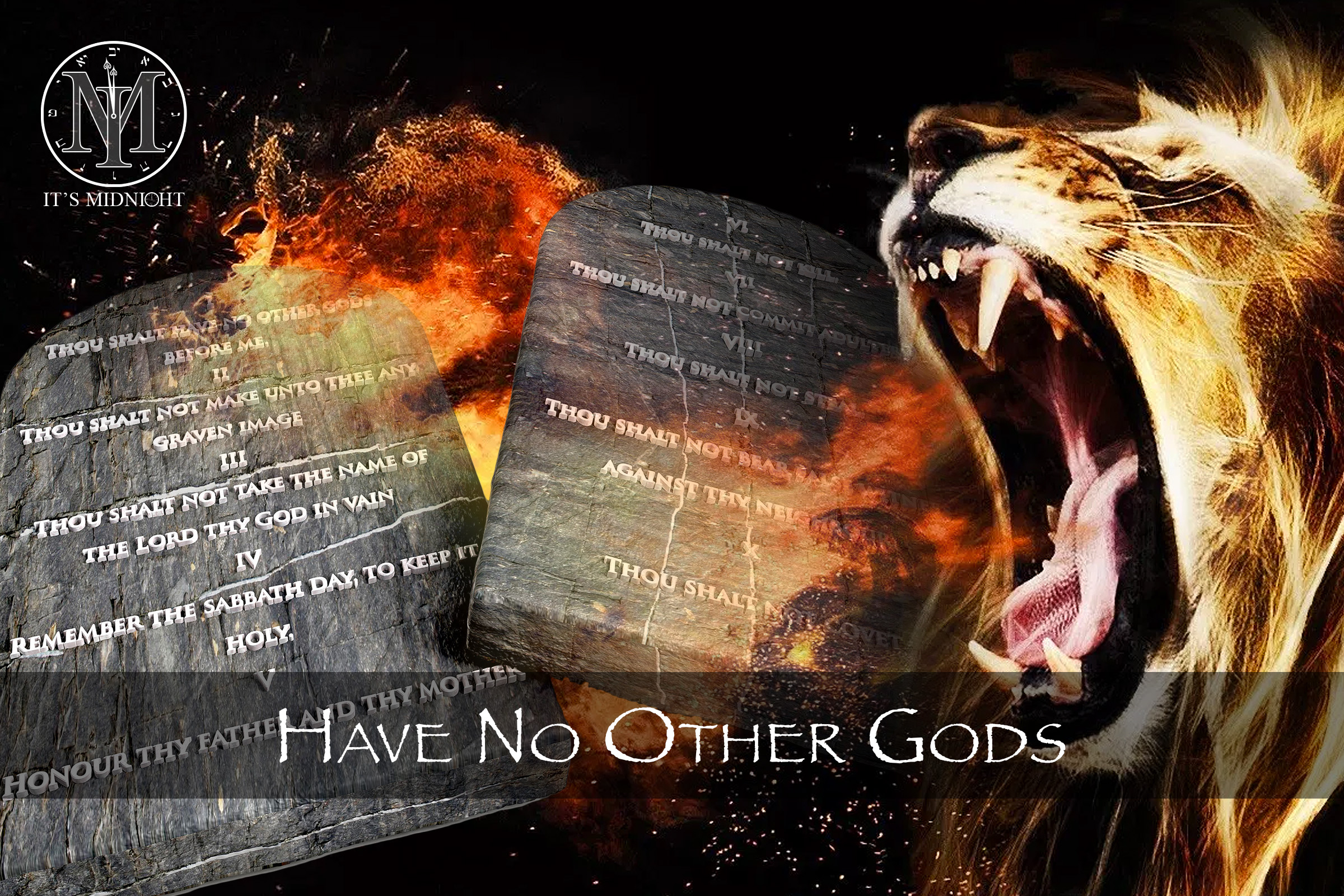 1st Commandment: Have No Other Gods