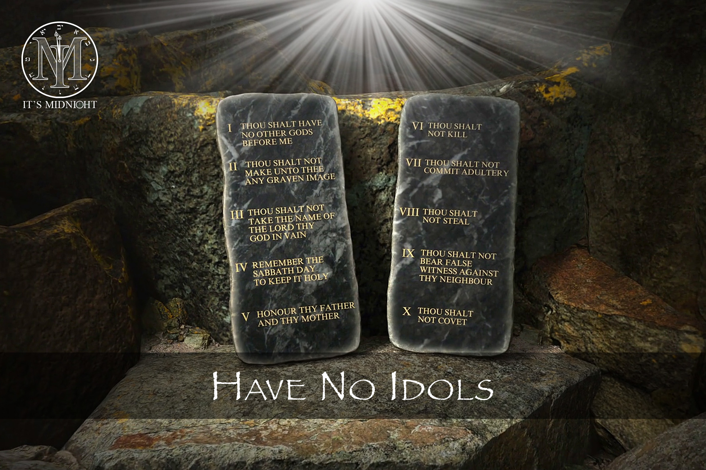 2nd Commandment: Have No Idols
