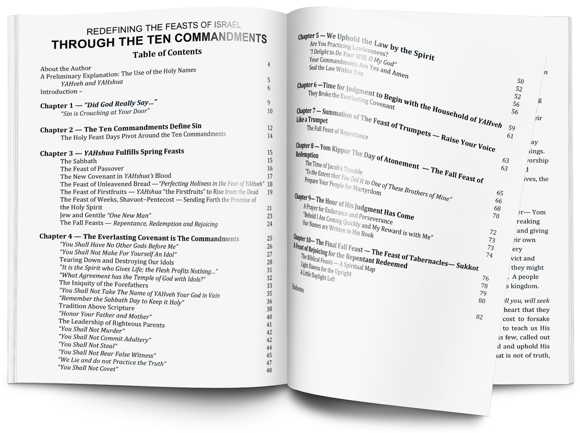 Table of Contents | Click to Enlarge