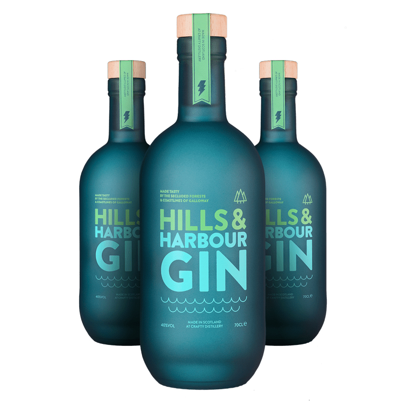 Hills & Harbour Gin, £38