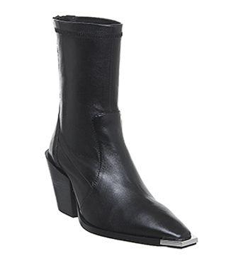 Office Ashen Western Boots £89