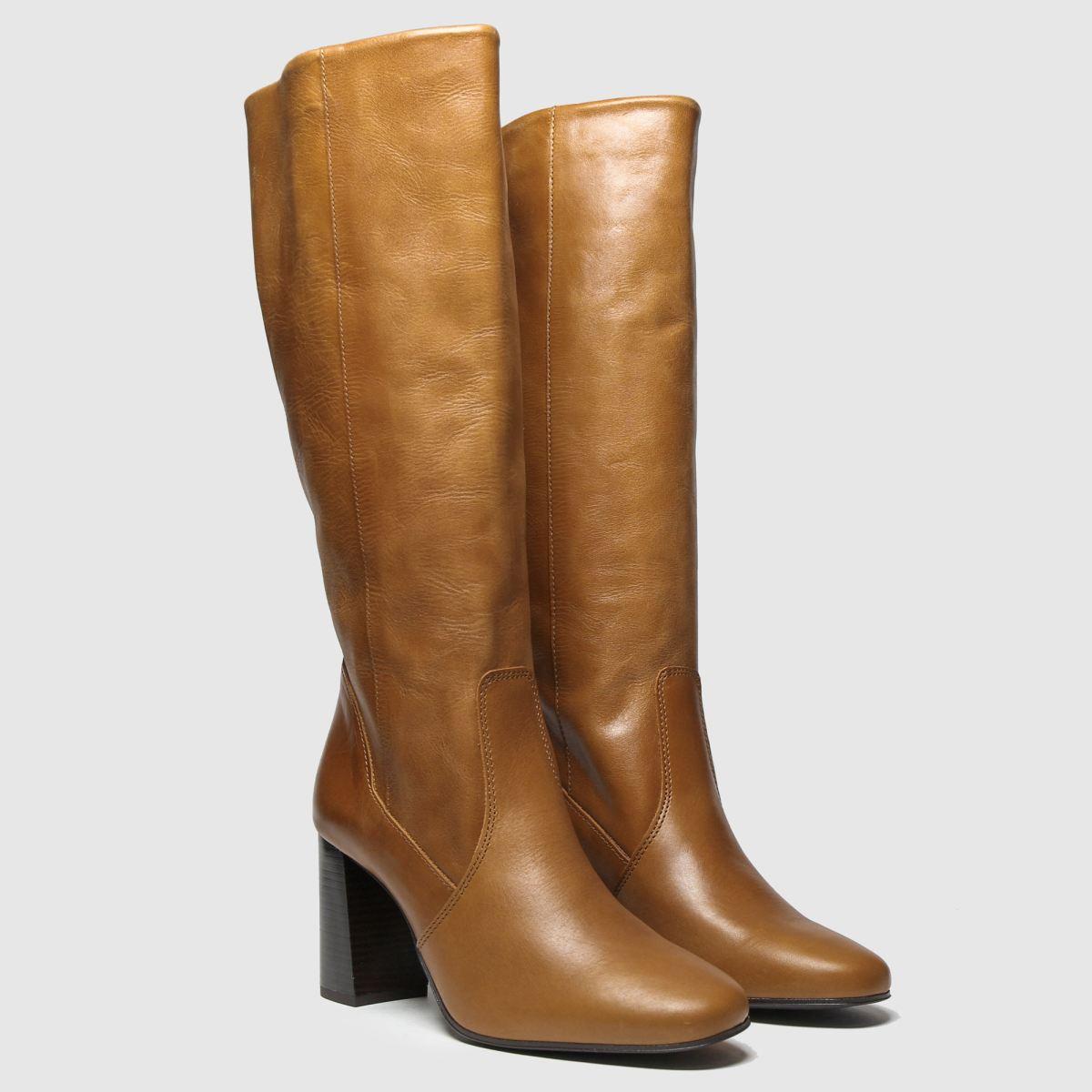 Schuh Tan Enchanter Boots £100