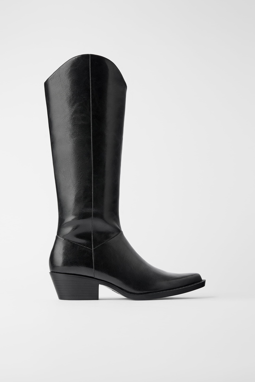 Zara Cowboy Heeled Boots £59.99