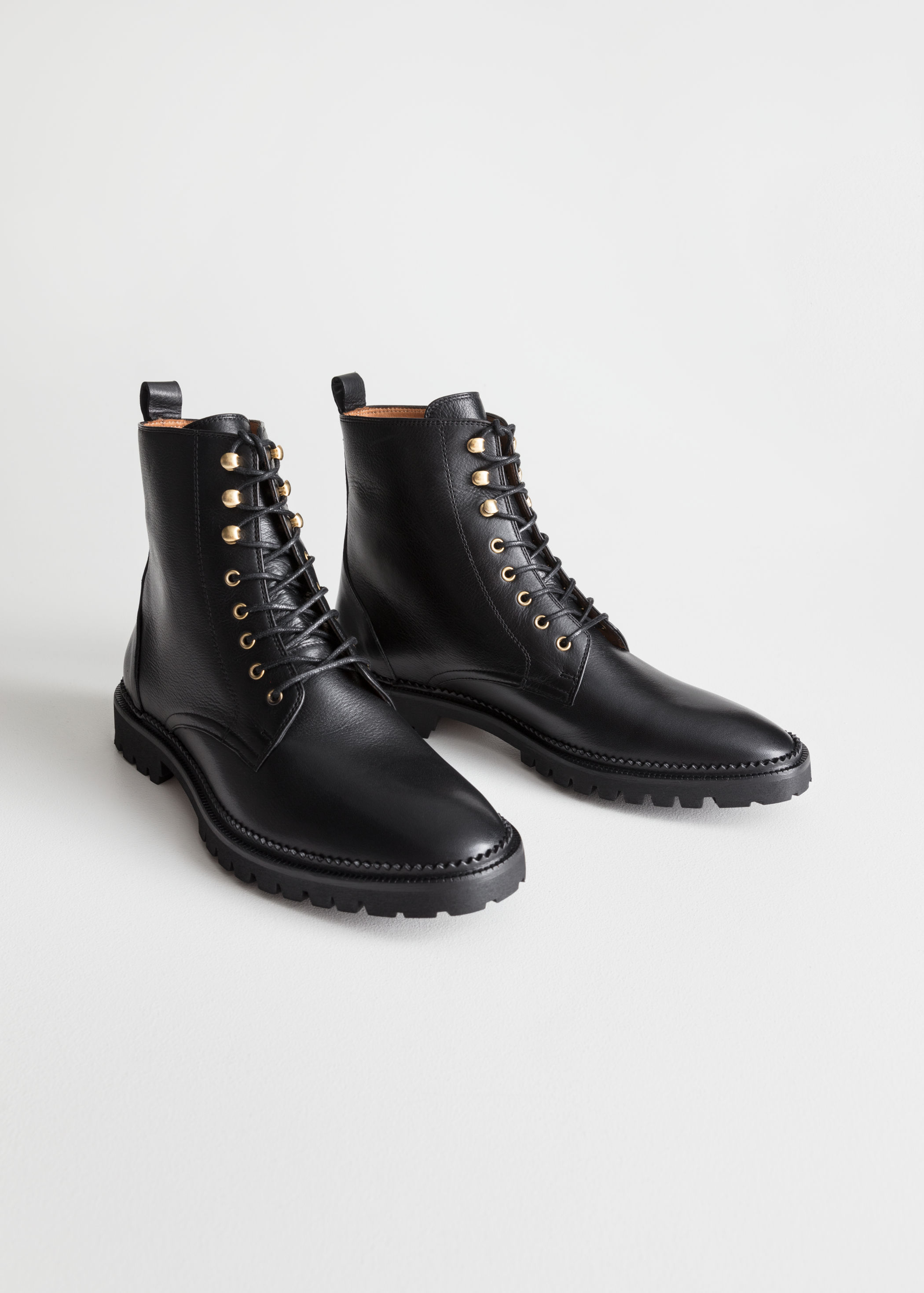 & Other Stories Lace up Boots  £135