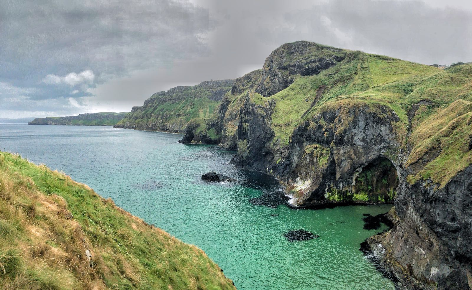 Views from Carrick-a-Rede Island