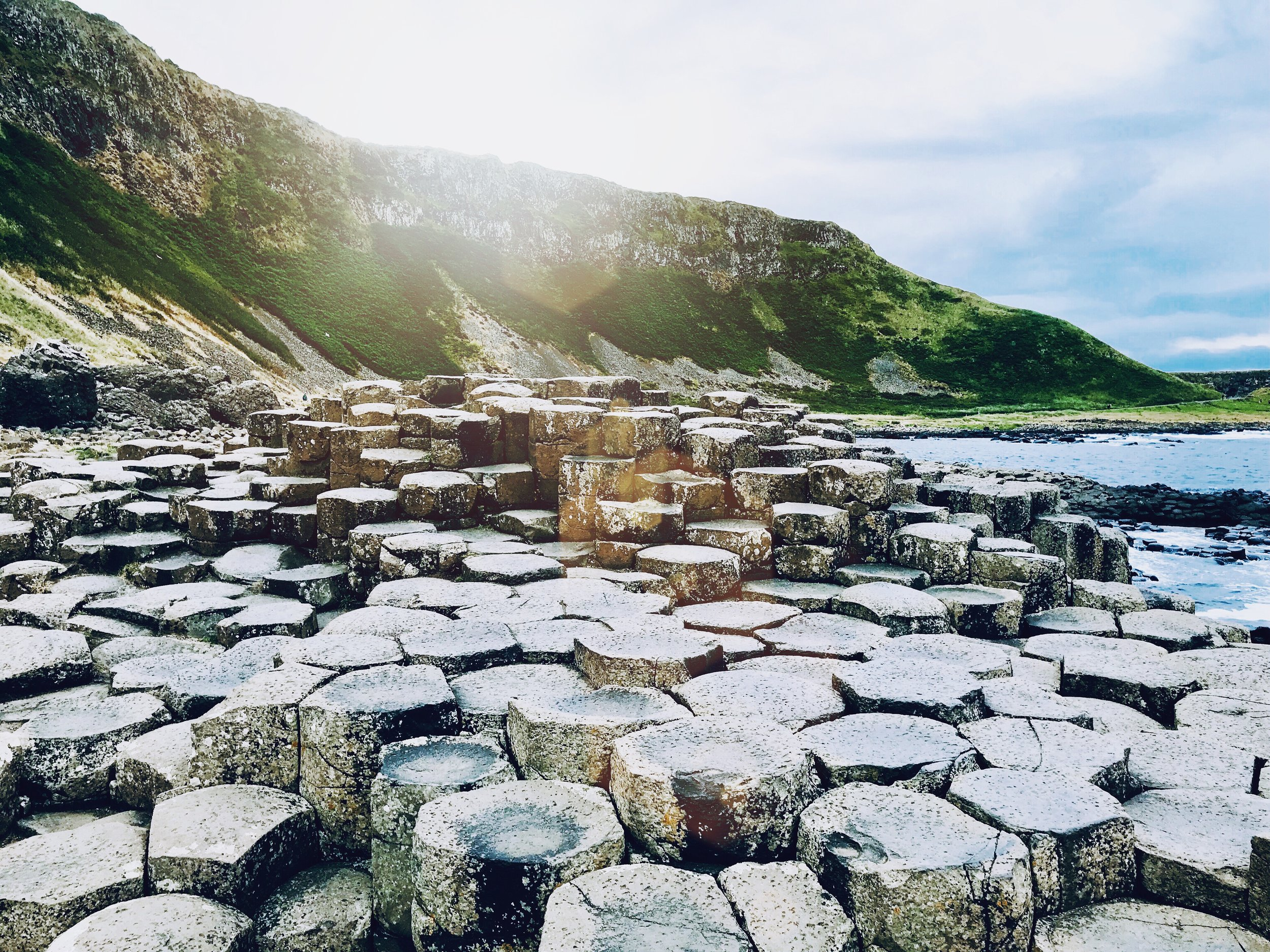 Postcard from the Giant's Causeway
