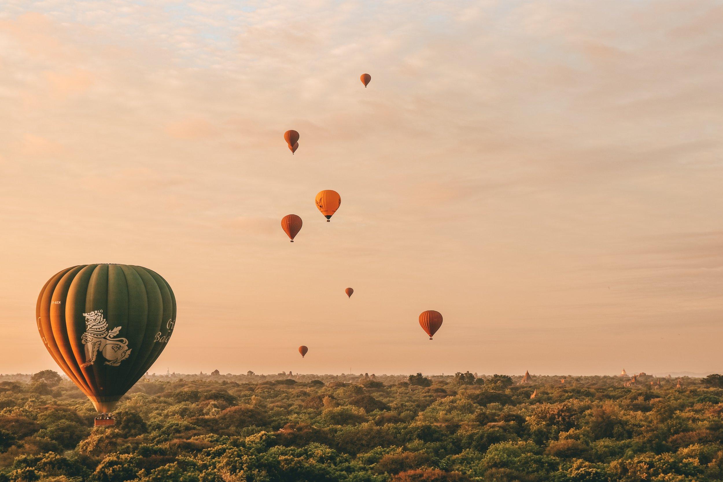 Sunrise - Oriental Ballooning