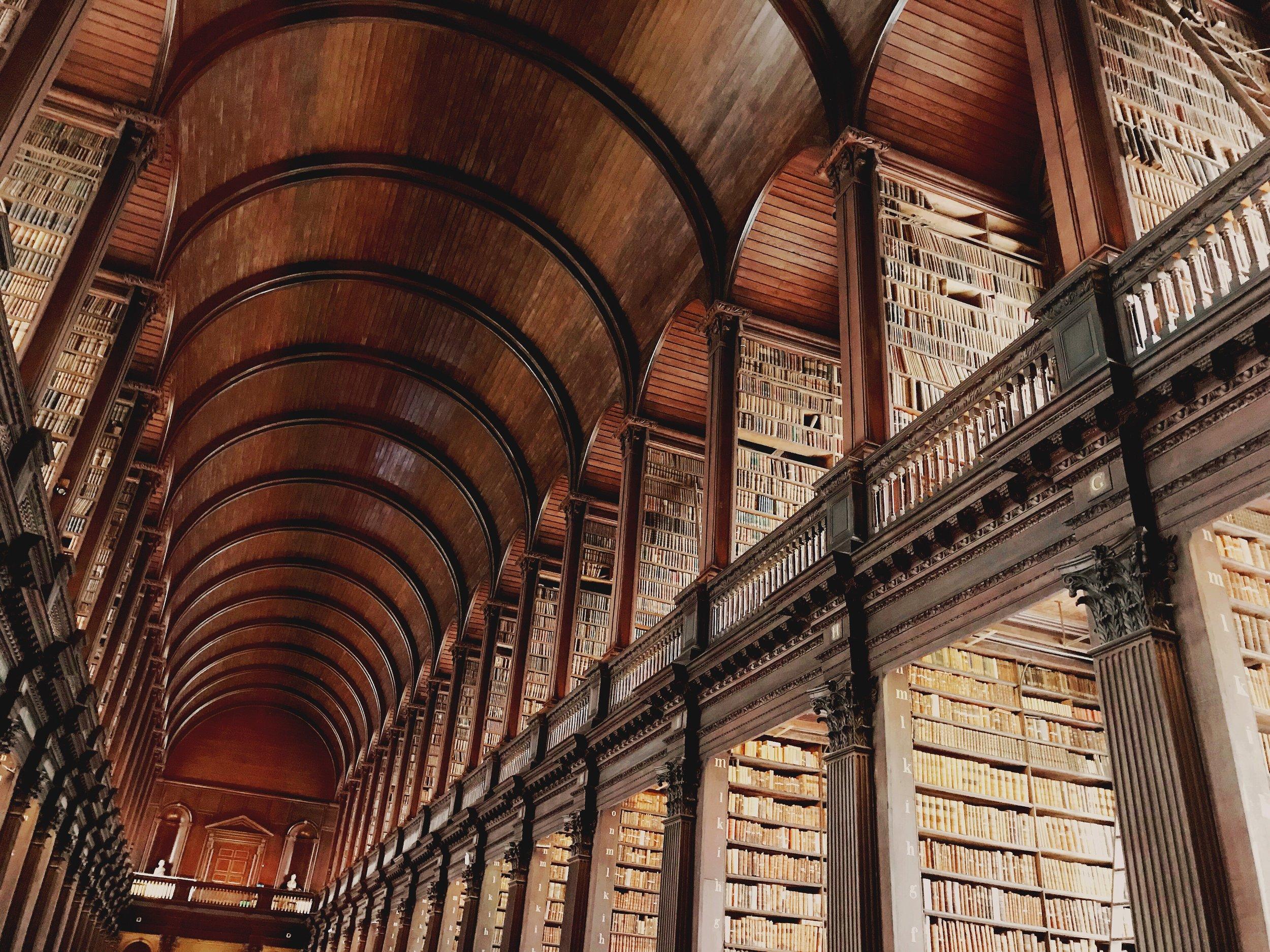 The Long Room - Trinity College Library - Dublin, Ireland