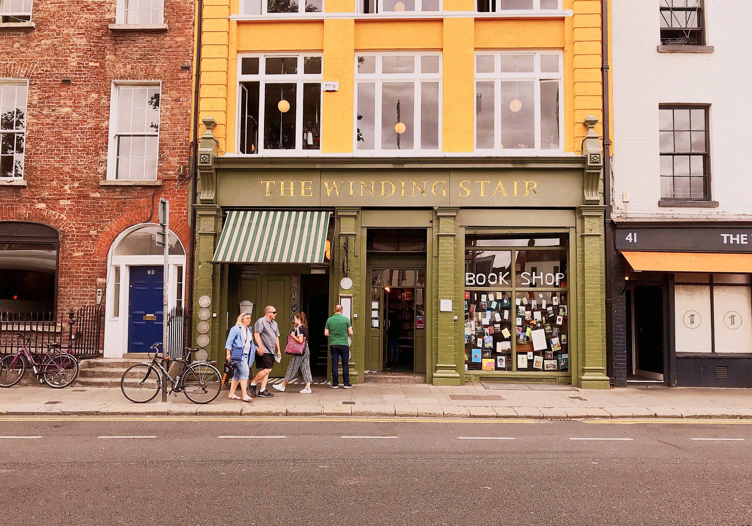 The Winding Stair Bookstore- Dublin, Ireland