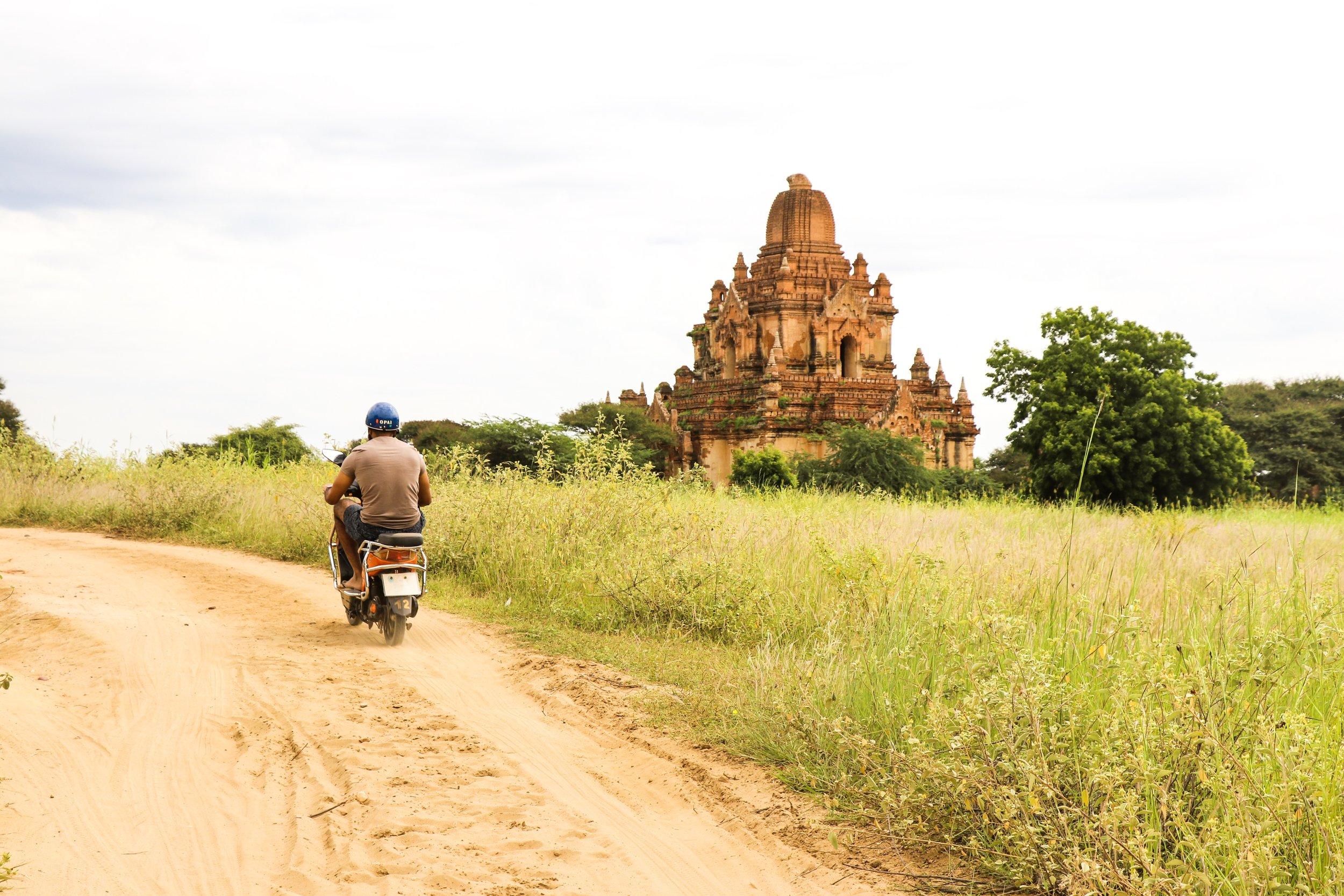 North and South Guni - Bagan, Myanmar