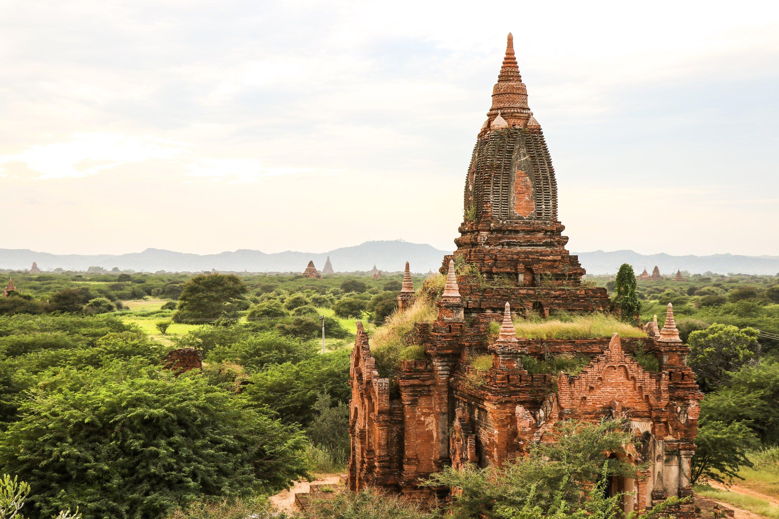 View from the top - Bagan, Myanmar