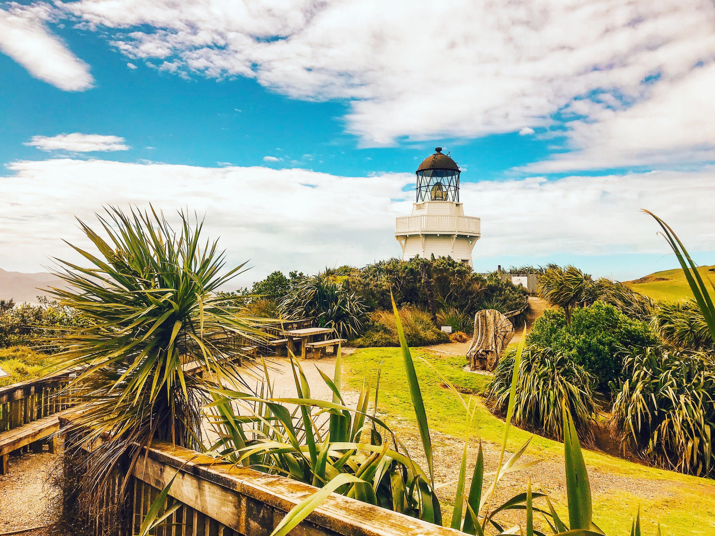 Awhitu Lighthouse - North Island, New Zealand