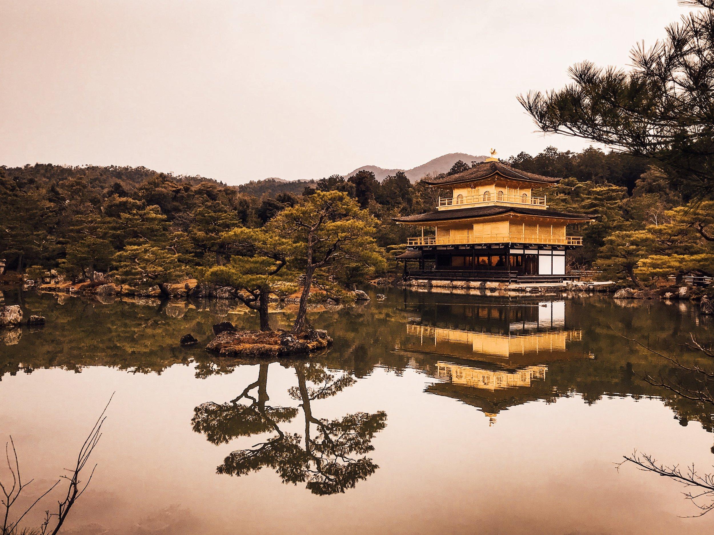 Kinkaku-Ji - the Pure Land of the Buddha - Kyoto, Japan.JPG