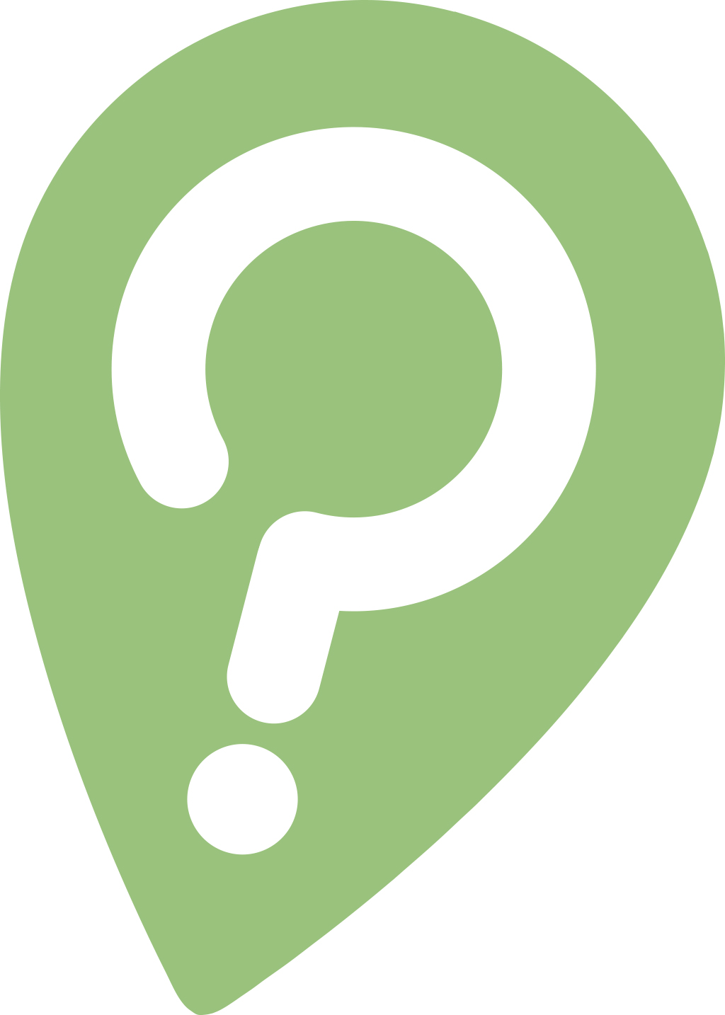 My theme and logo - The pointer/question mark logo is designed to encourage churches to prayerfully ask, 'where are we right now?' and 'what are the best directions to take from here?'