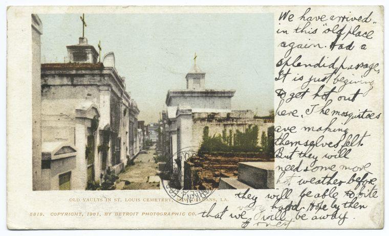 Old Vaults in St. Louis Cemetery, New Orleans, La..jpg