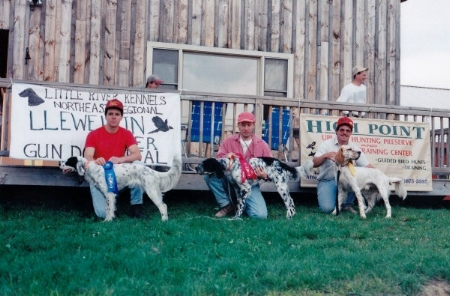 1997 northeast regional llewellin setter gun dog trial -derby class