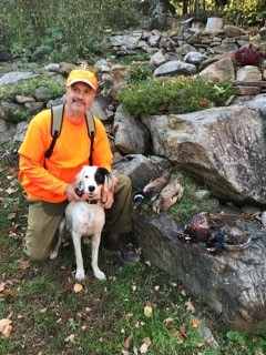 Moxie - Just wanted to update you on Moxie. It's her first hunting season and she's doing great. She has also proven to be a great family pet, and stolen our hearts. Wanted to say thanks for providing us with such a great dog!Mark ,New Hampshire-October 2018Winnie/Atticus 2017