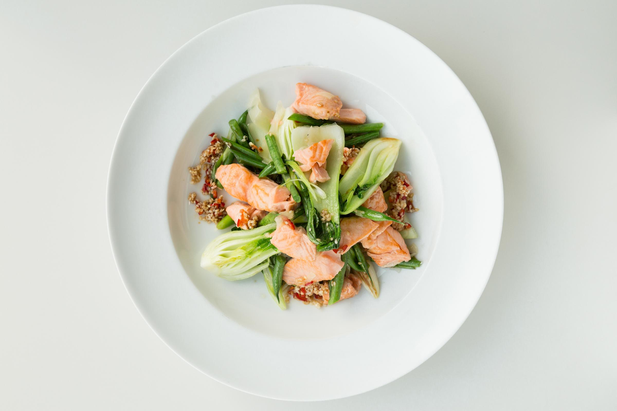 Asian salmon & veggie rice bow_thenutritionistfoodiel.jpg