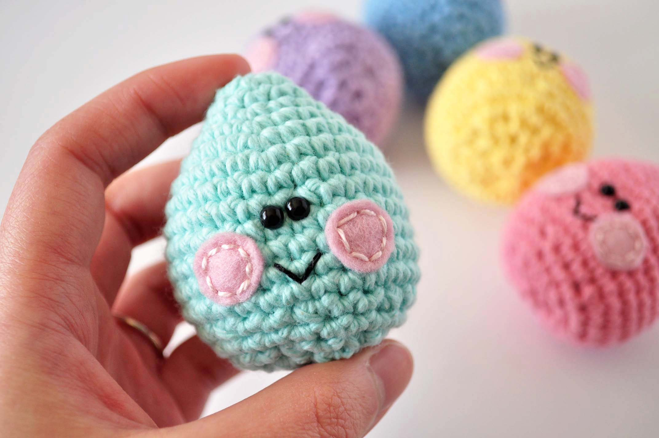 Easter Egg Crochet Pattern