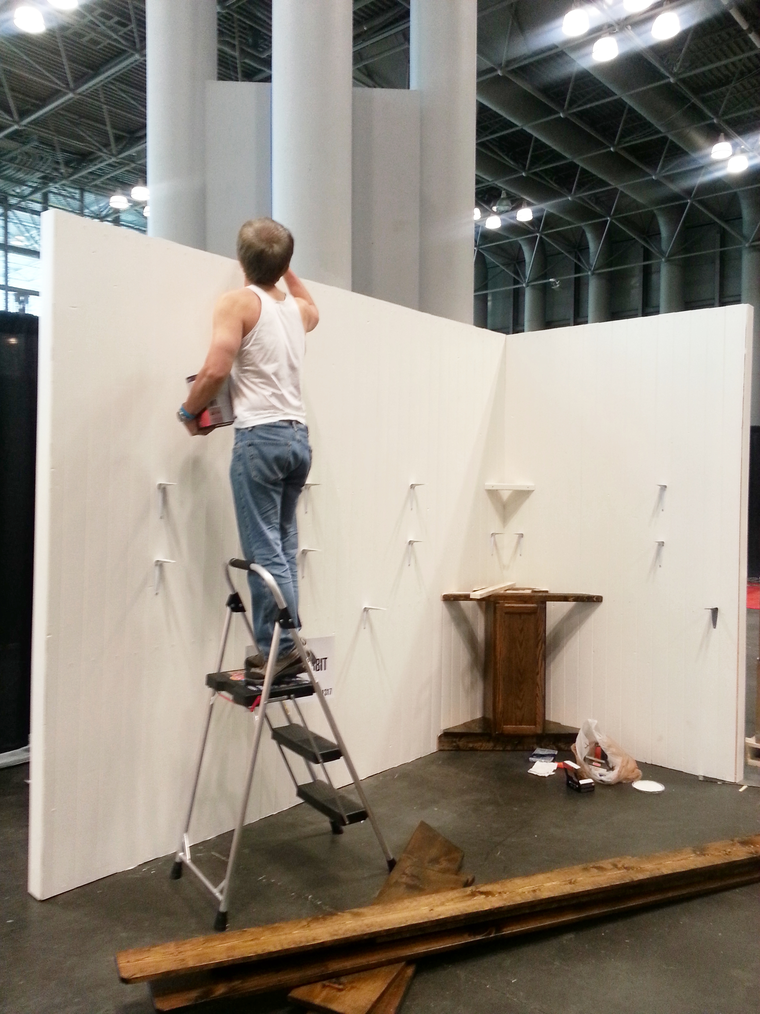 NSS 2015 booth walls