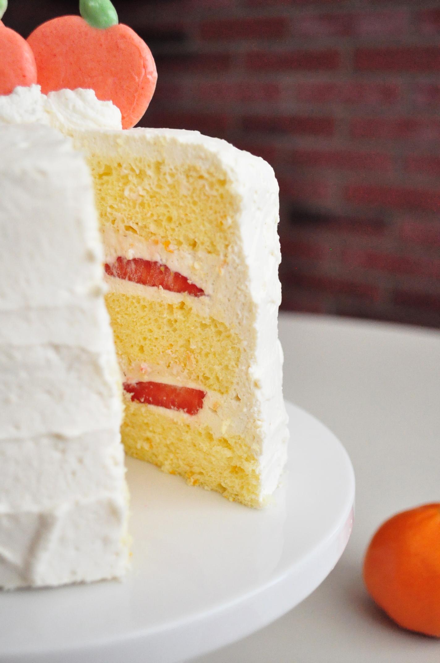 Chinese bakery fruit cake