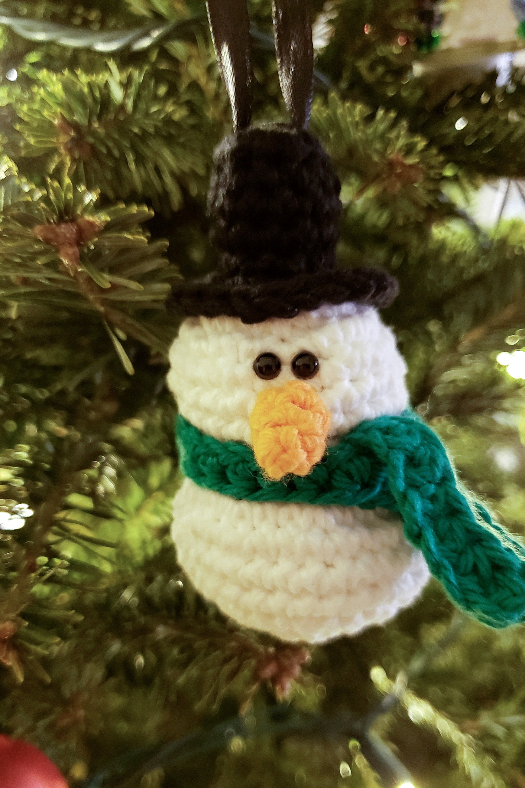 snowman+ornament+crochet+pattern