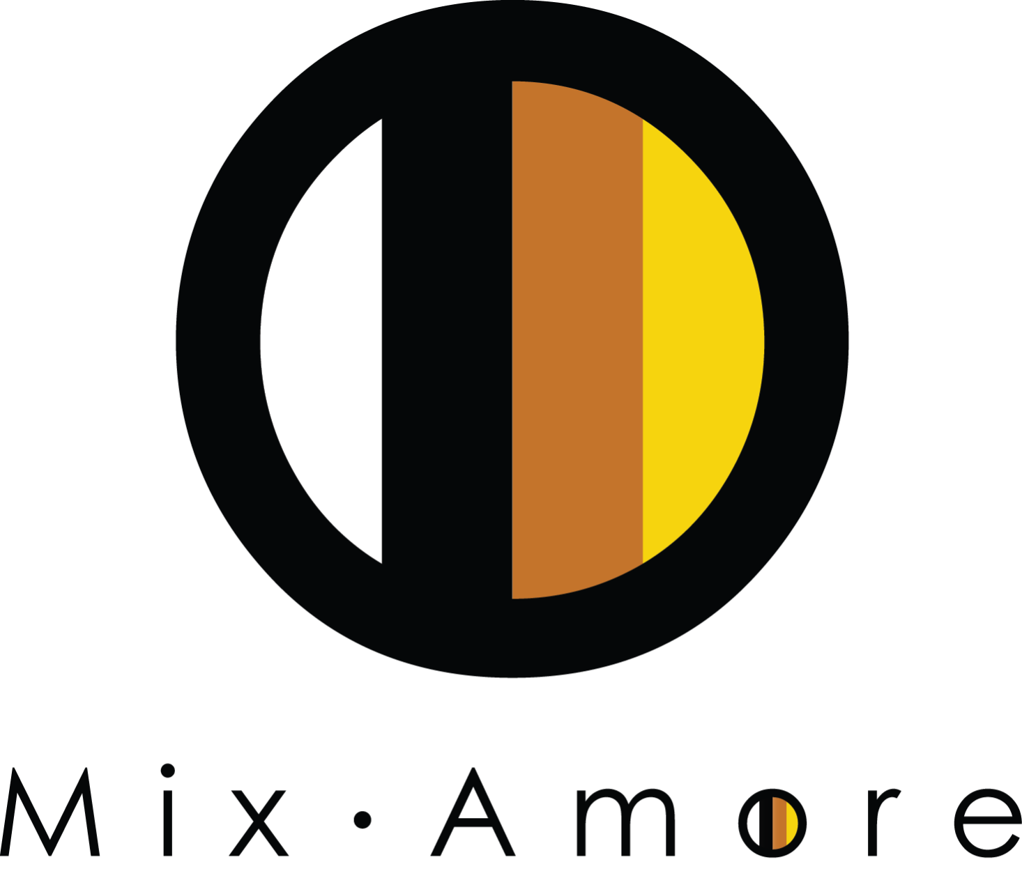 Mix Amore Circle logo with name only in png.png