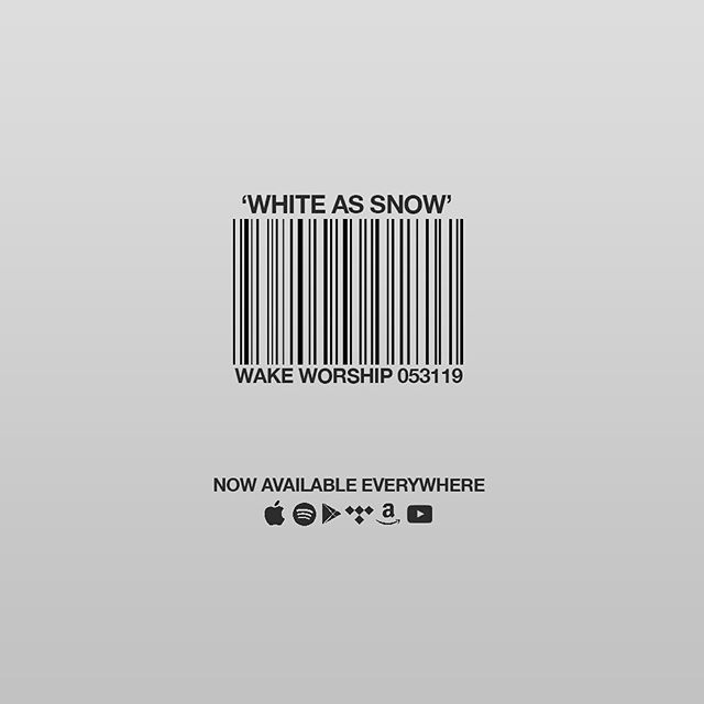 White As Snow | Now Available Everywhere | #WakeWorship  Click the link in our bio to find your streaming platform!