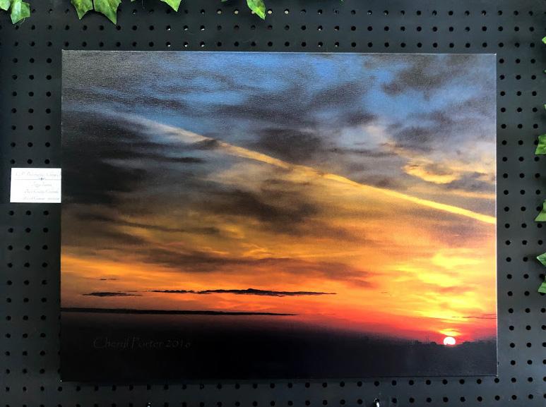 Foggy Sunrise by Cheryl Porter