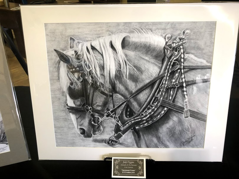 Harnessed Power - Matted Print - $115.00