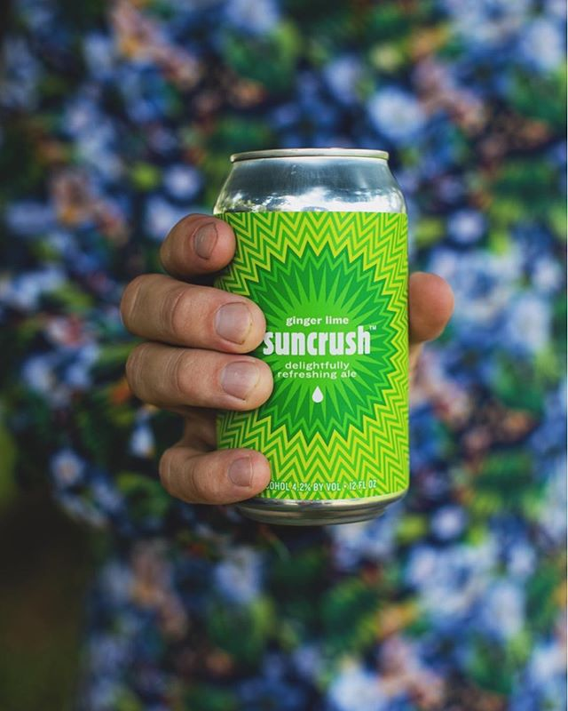 ☀️NEW! 8.24.18☀️ ginger lime suncrush . Releasing in all 3 @hardywood taprooms. Get it while you can and share your #suncrush adventure with us by tagging @suncrushbeer. We have a feeling you're out there #crushingit this summer.💥 . ginger lime & tangerine suncrush will be taking the spotlight at the @ledburyshirts Warehouse Sale SUNCRUSH Party this Saturday. Join us for an afternoon in the sunshine with live music & delicious food while you shop Ledbury's biggest sale of the year!