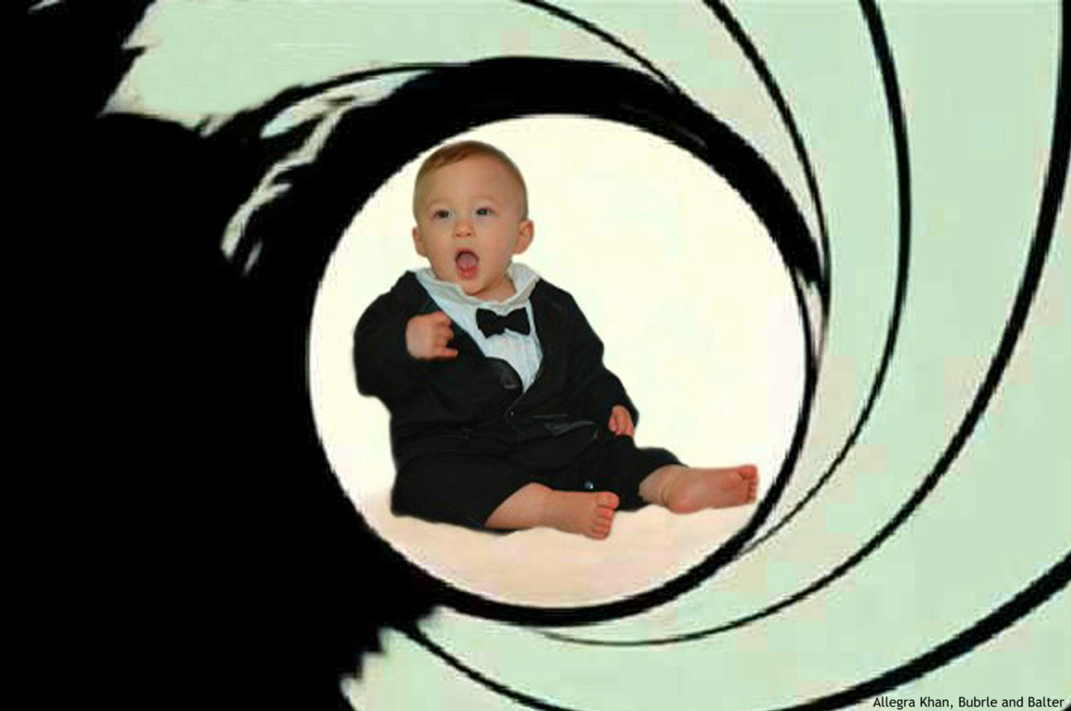 Baby James Bond, Photo 1