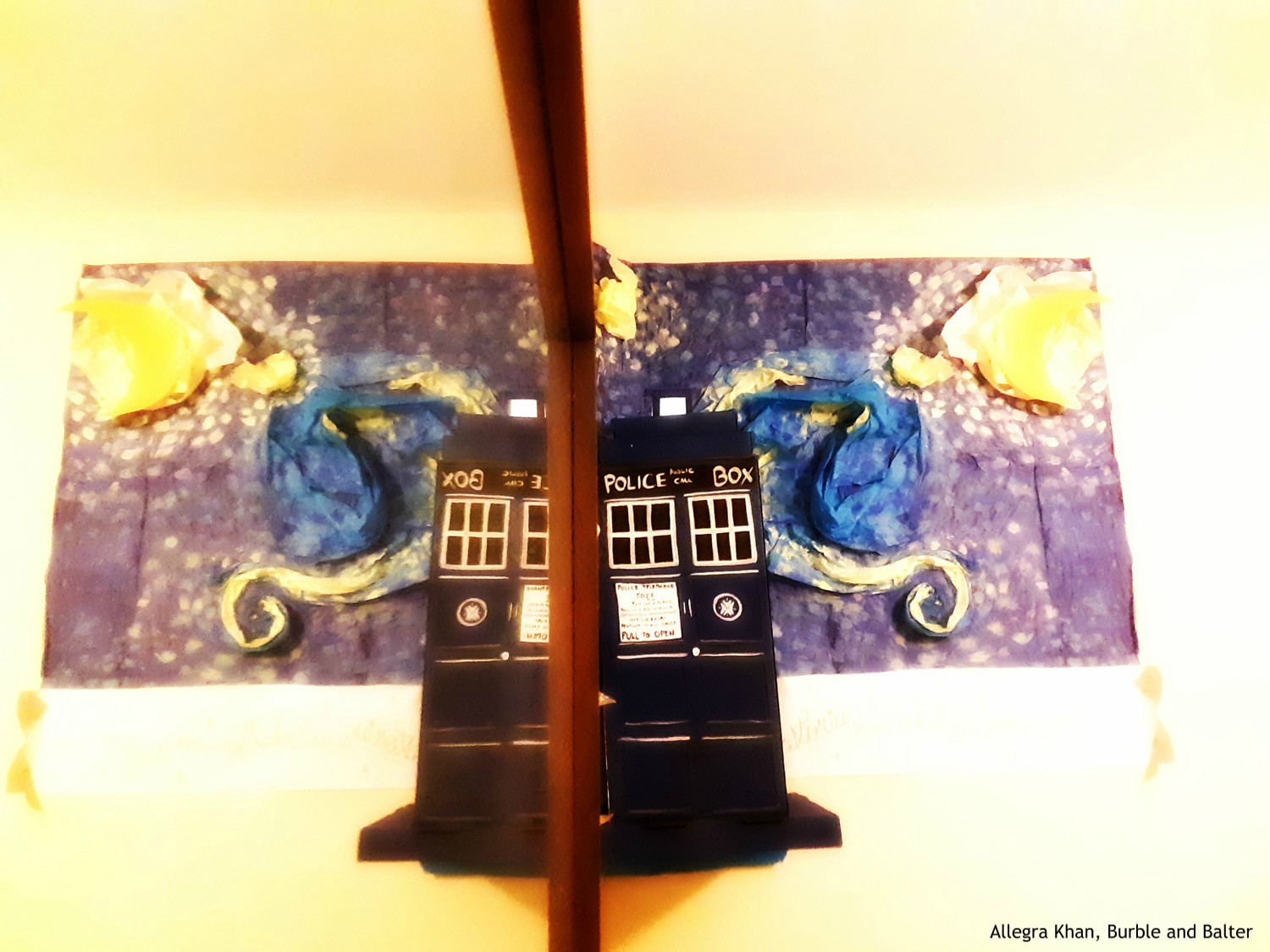 Tardis and Starry Night by Mirror