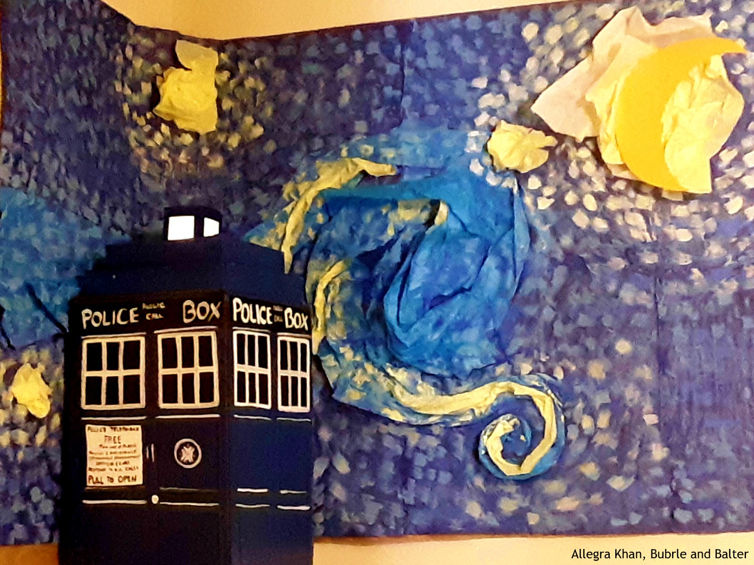 Tardis and Starry Night