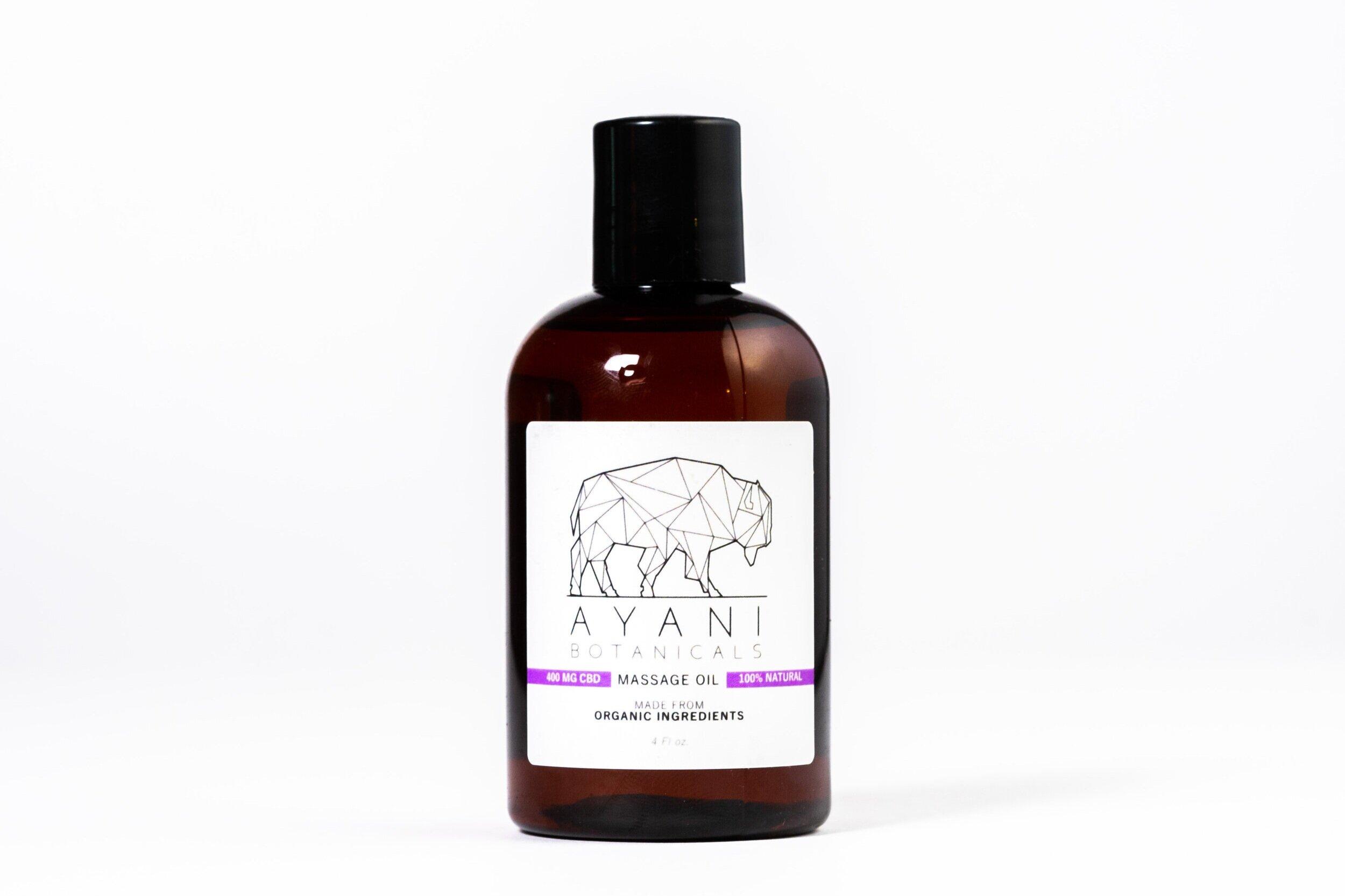Massage Oil  - $60