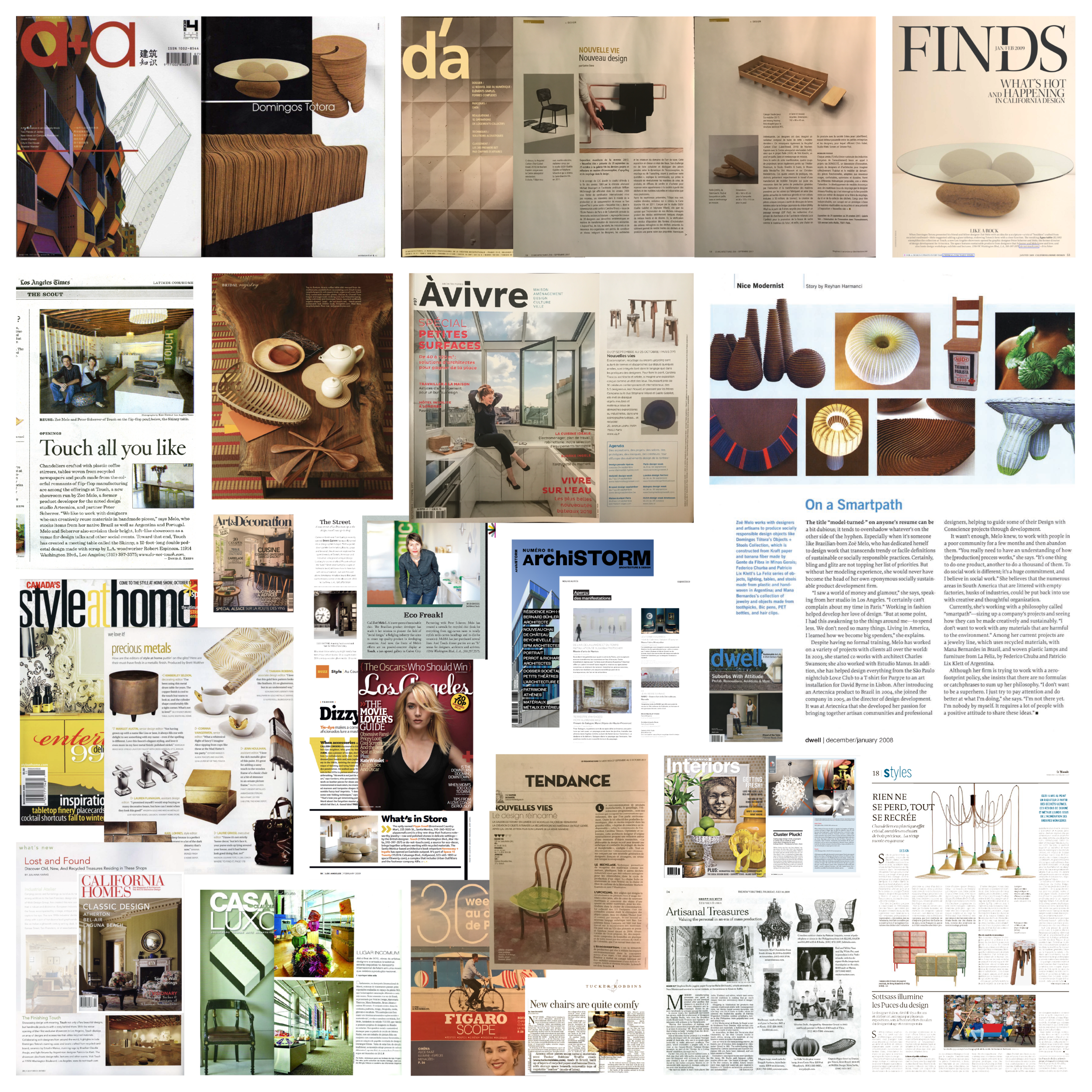 Press - Our team, products & services have appeared in leading design magazines from around the globe. Much gratitude to our collaborators & clients for the support and trust in taking this amazing journey together. For press inquiries, please get in touch.