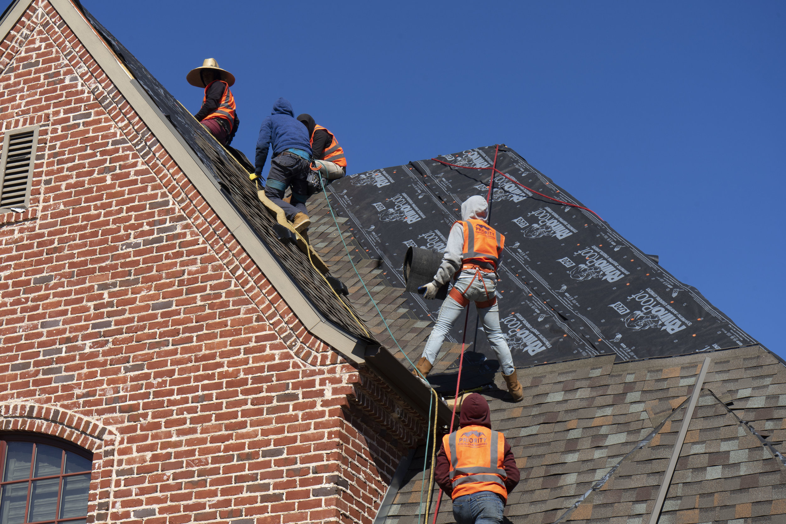 High Grade Material - Whether flashing replacement or shingles need to be installed, we will use the highest grade of material that is necessary for the job.