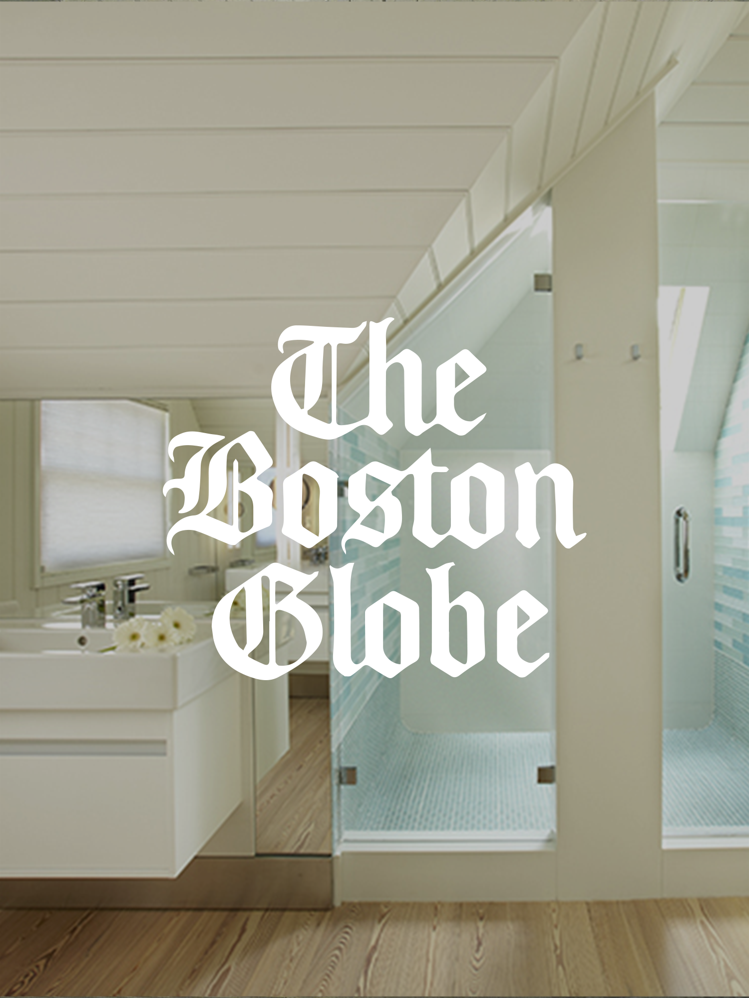 """Featured in the Boston Globe: """"The Right Angles"""" -"""