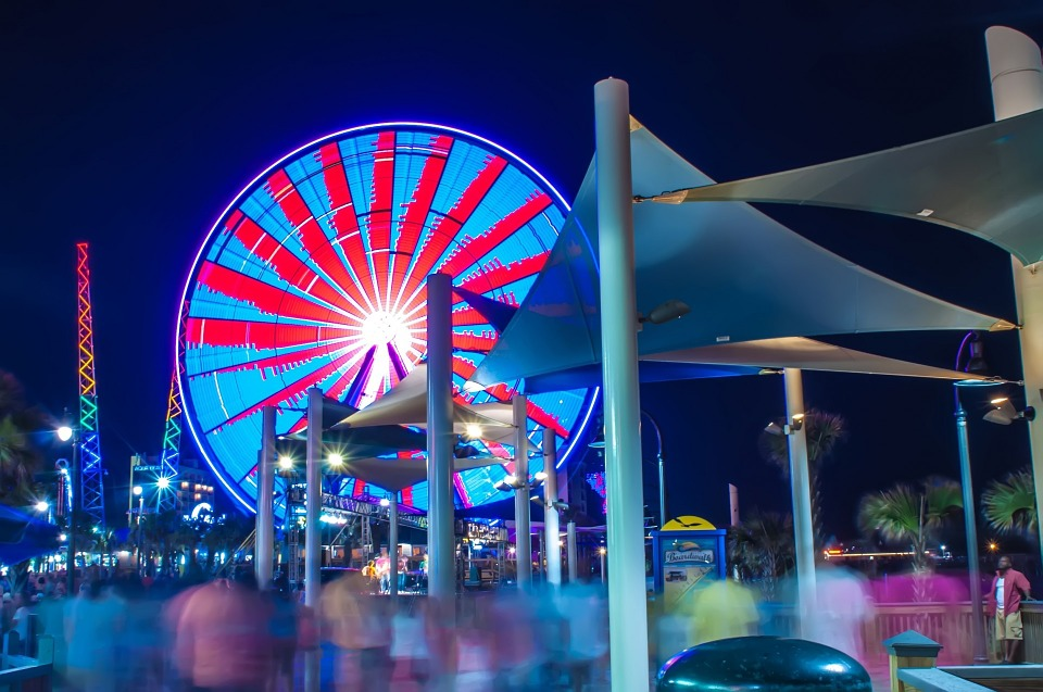 Attractions - Myrtle Beach attractions range from the tame to the extreme!During the day visit one of Myrtle Beaches many amusement centers featuring golf carts, video games, food, live entertainment and more.