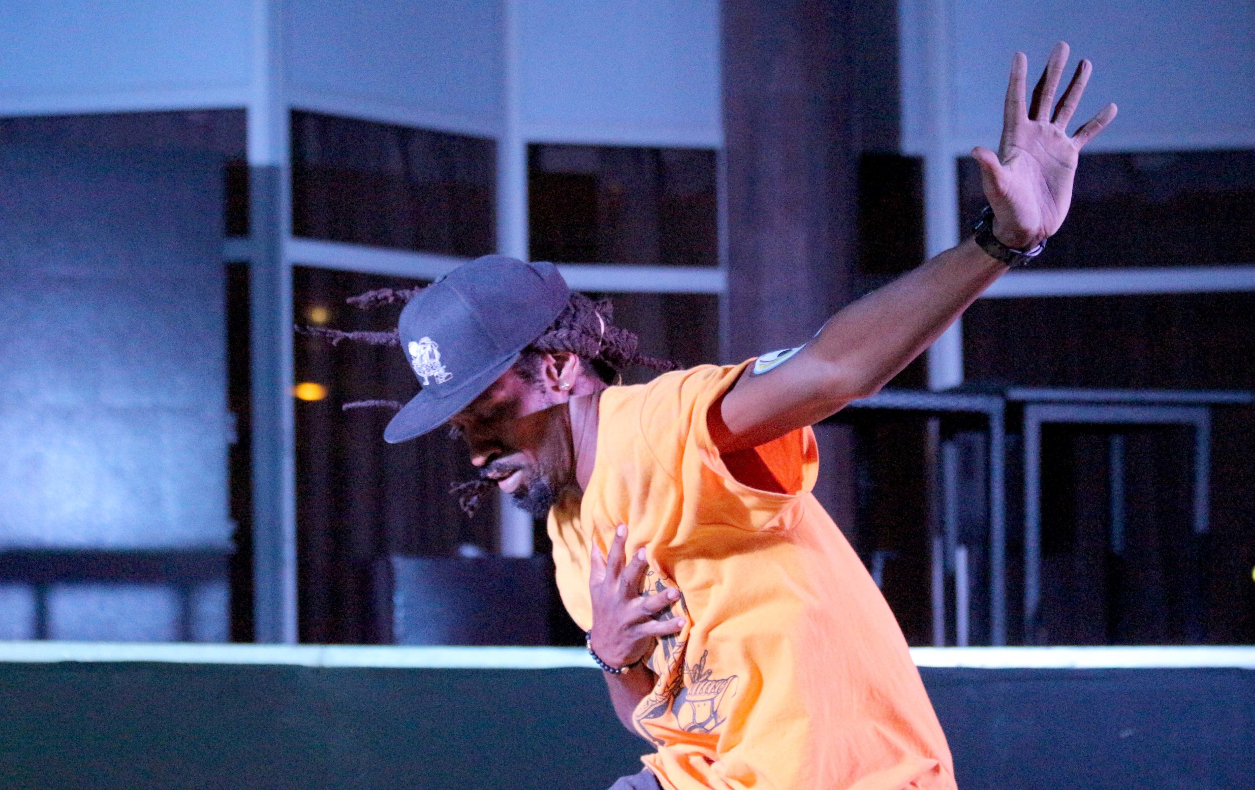 Kyle Clark performing during the  dance session at Sandralia Hotel, Jabi, Abuja..jpg
