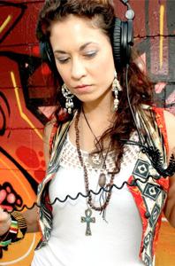 """Lauren """"DJ Chela"""" Harkrader"""