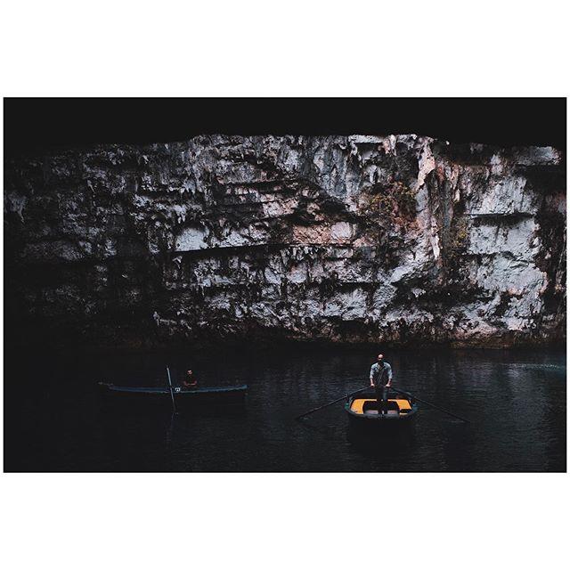 Oarsmen of Melissani |  #travel #travelphotography #travelphoto #photography #lensculture #lensculturediscovery #travelgram #travelaroundtheworld #ominous_perfection #cave #melissanicave #melissani #water #bestofgreece #greece_travel #greece #ilovegreece #fujifilm #fujifilmxt3 #23mmf2 #fujifilmglobal #fujifilmxseries #fujilove #photooftheday #travelgram #natgeo